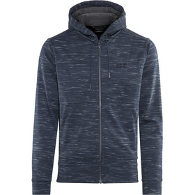 Jack Wolfskin Oceanside Hooded Jacket Herren night blue